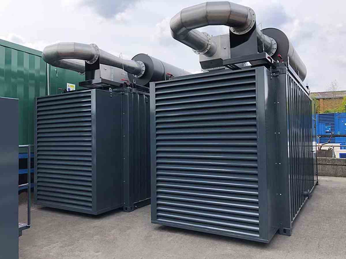Two 800kVA generators with SER