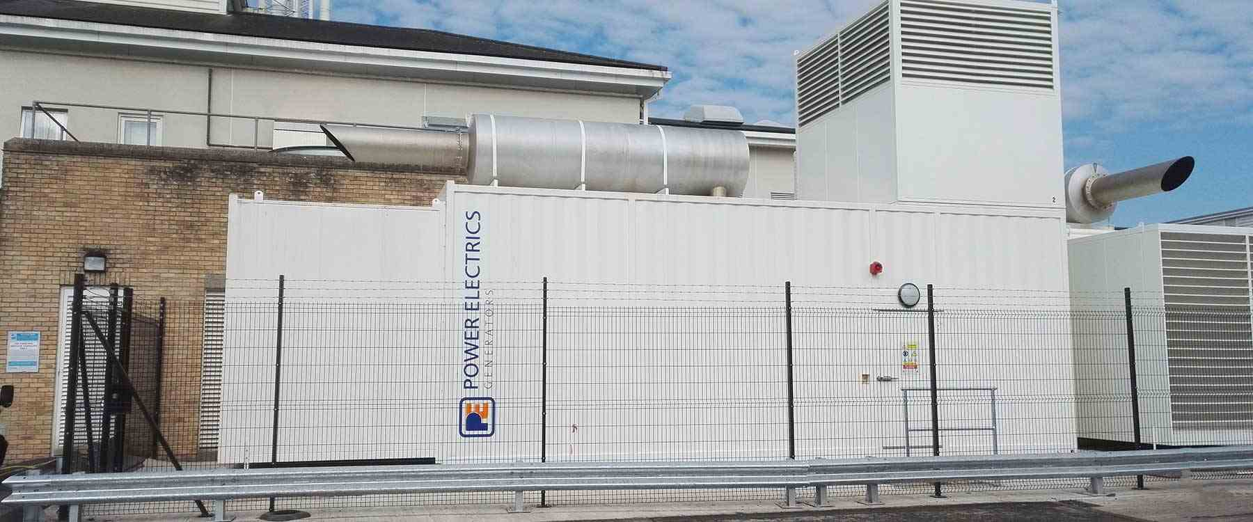 Generator located at healthcare facility)