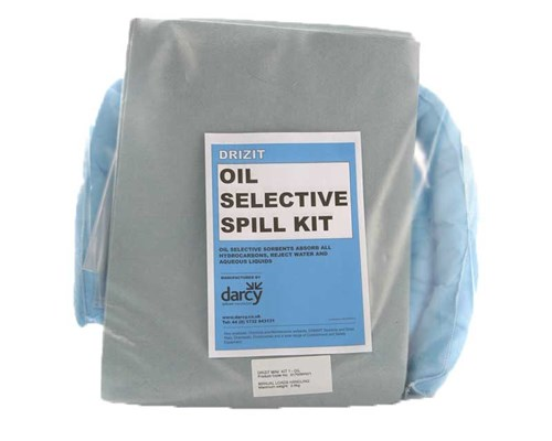 Oil spill kit 15 contents bag