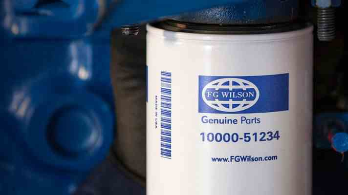 Genuine FG Wilson service filter part